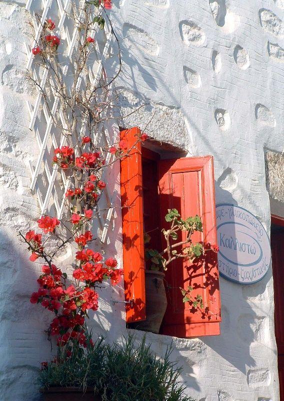 Red window. Katapola