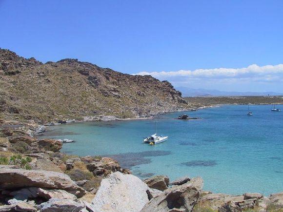 A beach not far from Naoussa