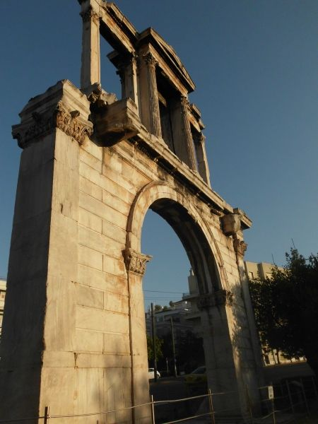 hadrians portal, one of my favourite spots in athens