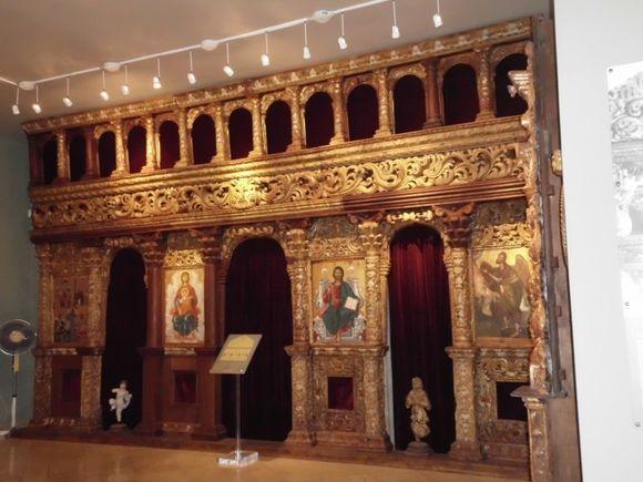 remains of the oltar in ecc,byz.museum
