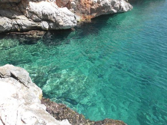 lovely waters of mariza, south agistri