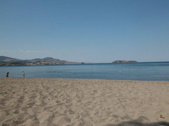 Petra beach, LesvosPetra beach,