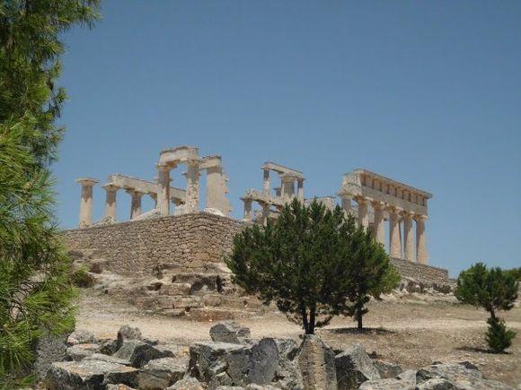 temple of athena afaia, egina