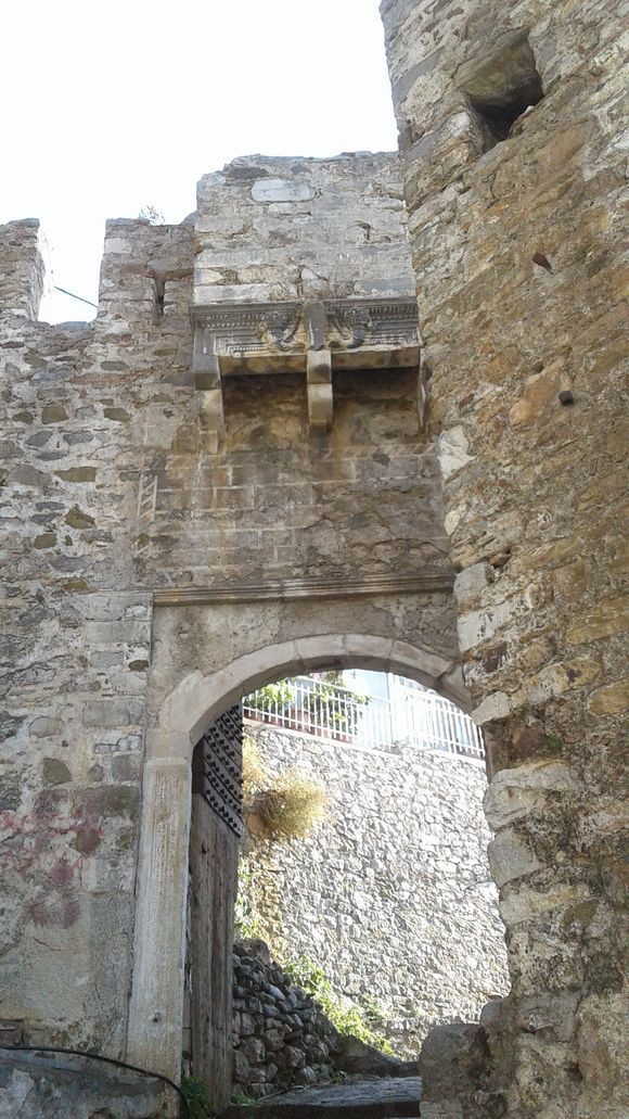 one of the entrances to the castle