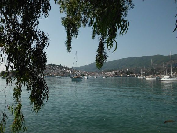 the beautiful island of Poros