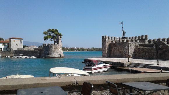 the port of Nafpaktos