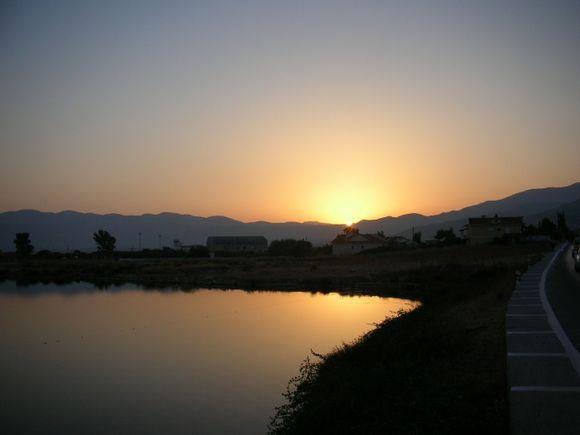 Potokaki sunset