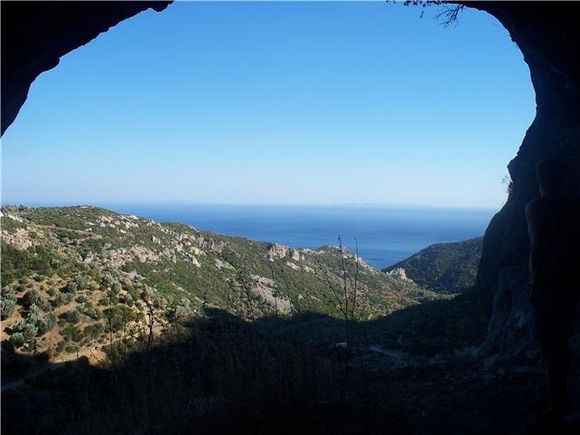 View from Pythagorus cave