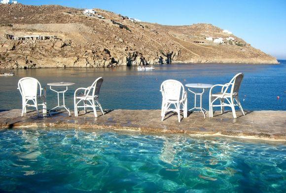 mykonos - Super Paradise view