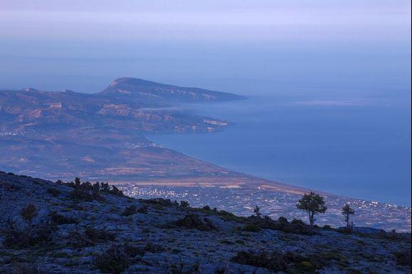 From Mount Psiloritis, Crete
