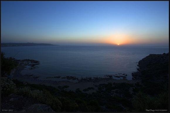 Sunrise in Faliraki