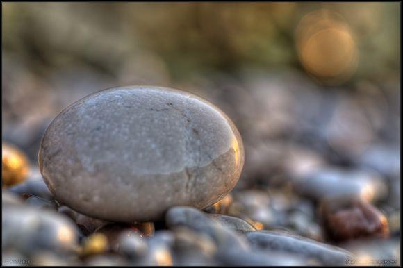 Sunrise in stone