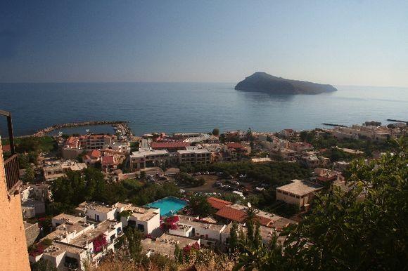 Thodorou island and Platanias,Crete