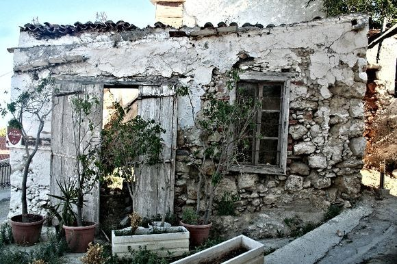Old house in Platanias ,Crete