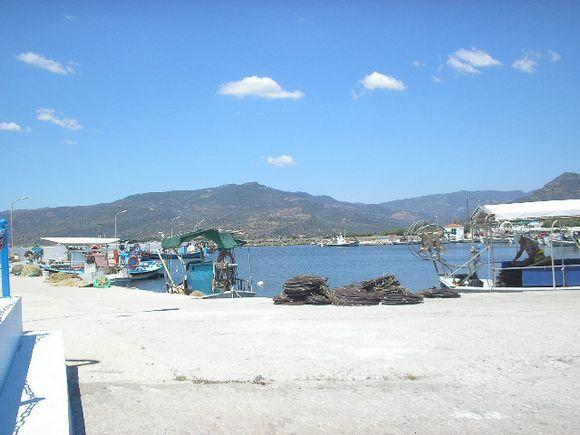 Harbour at Skala Kallonis