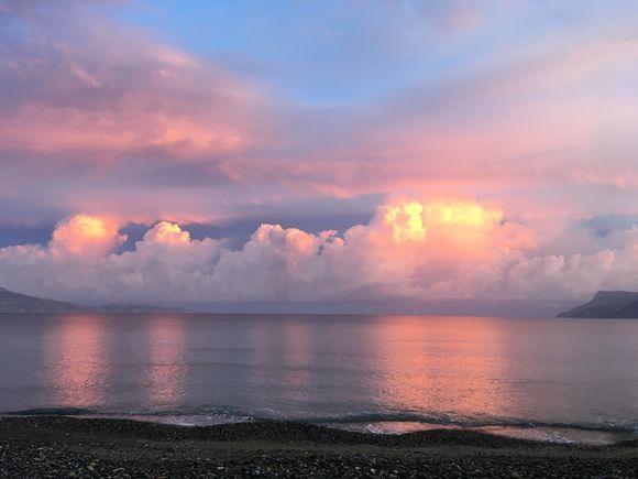 Kissamos bay sunrise
