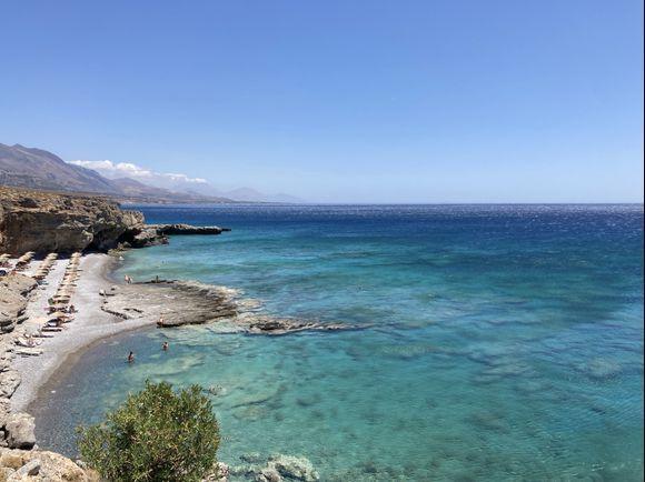 Filaki beach near Sfakia
