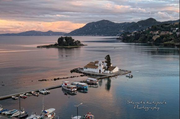 Corfu mouse island