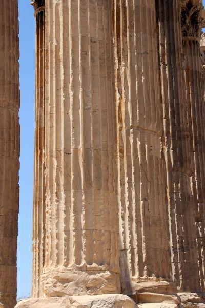 Temple of  Olympian Zeus (Detail )