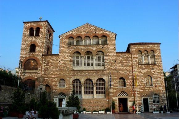 Agios Dimitrios-front part.