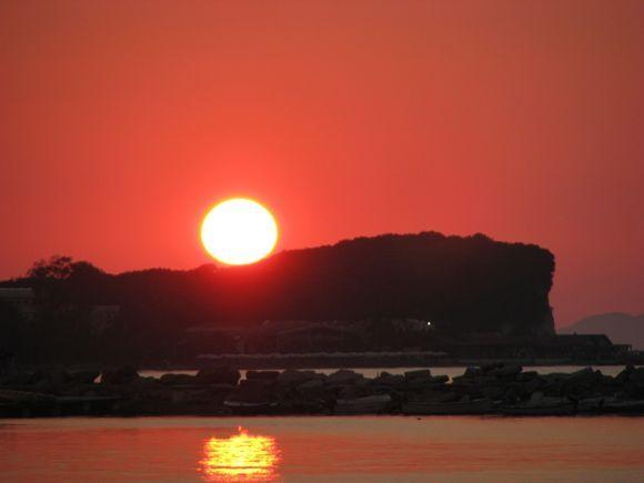Sunset at Roda.