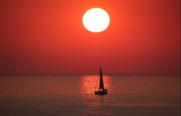 Methoni- Sunset