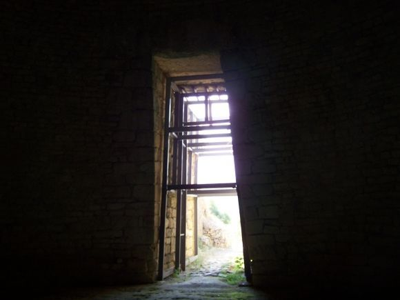 Tholos Tomb from inside