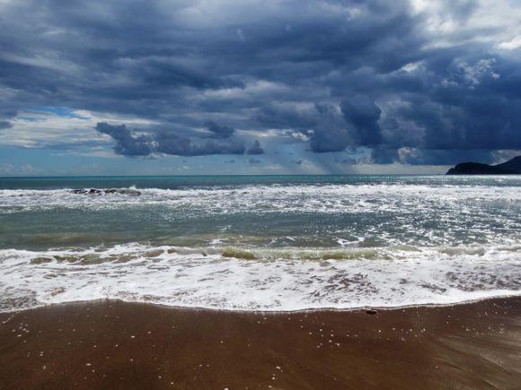 Kalamaki: Sun, Sea, Sand.  But not as I planned it...