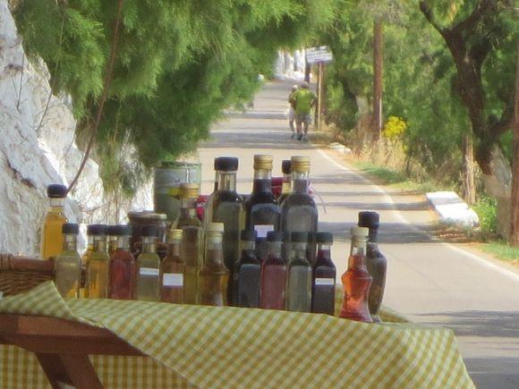 Greece in a bottle