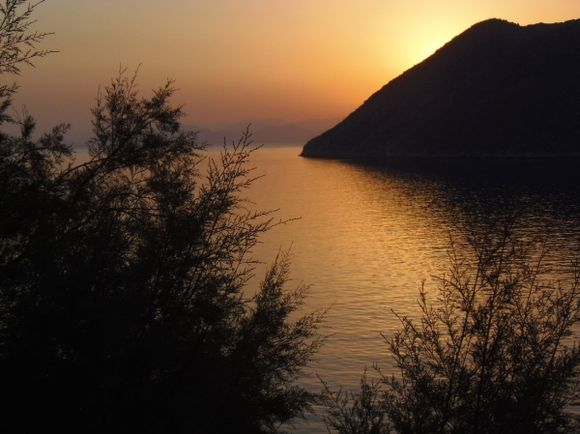 Sunrise over Gialos - Simi