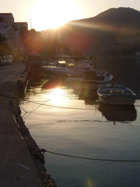 Sun breaking through - Gialos