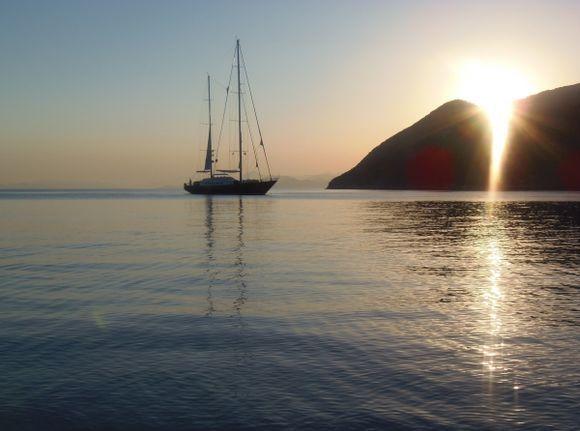 Shimmering Light - Sunrise Gialos
