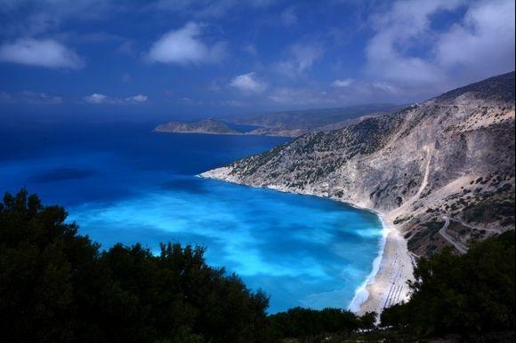 Myrtos colours