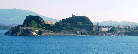 Corfu. The Venetian Fortress.