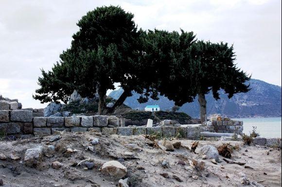 Kos. Agios Nicolaos from Basilica St. Stefano