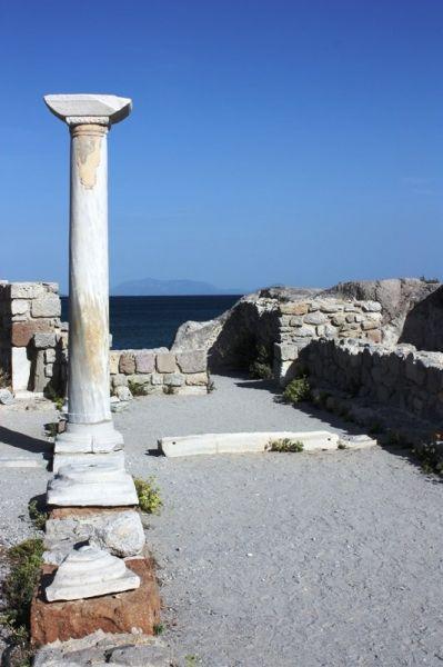 Kos. Kefalos. The Basilica of Agios Stefanos.