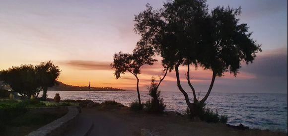 Stalida sunset