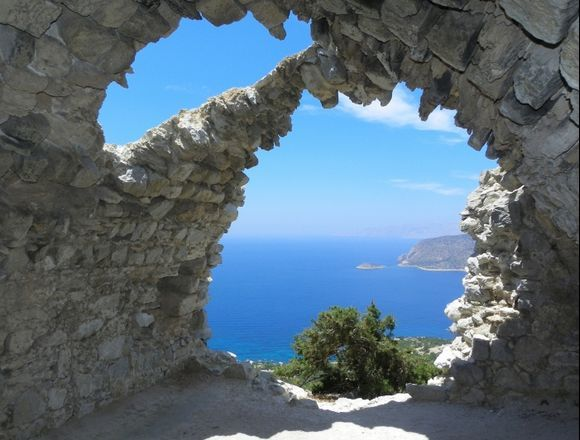Monolithos Castle Rhodes