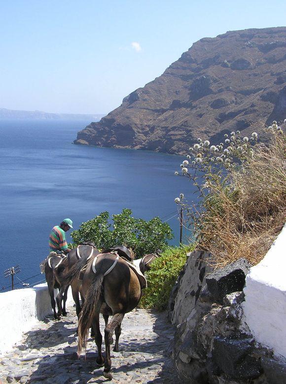 Down towards Ormos Korfou