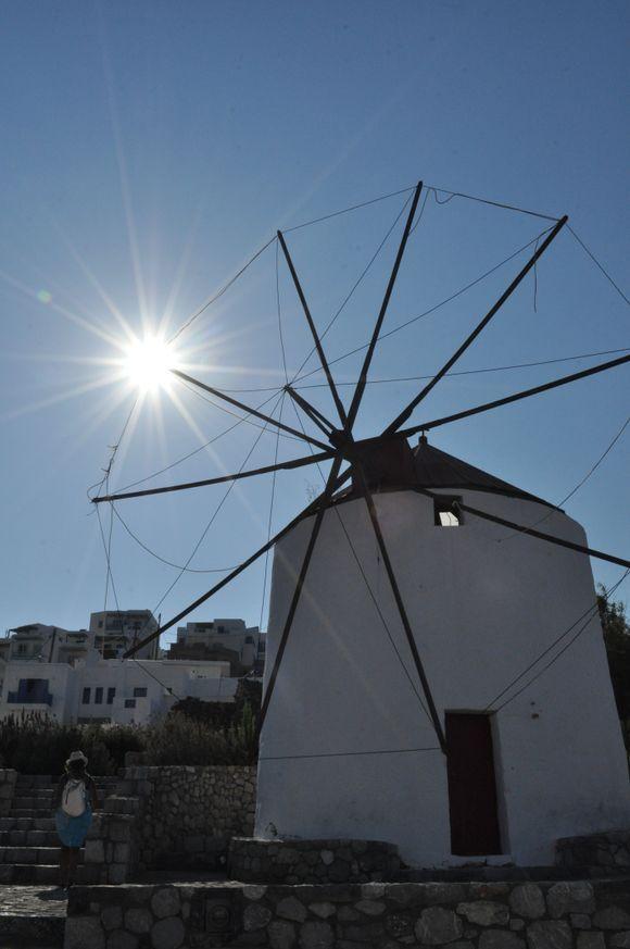 Backlight Windmill