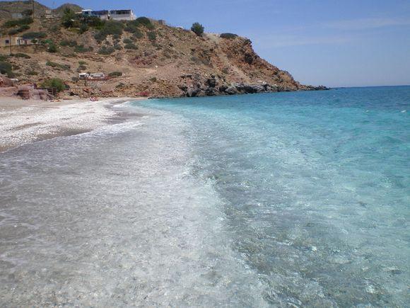 Agia Kyriaki beach in Milos
