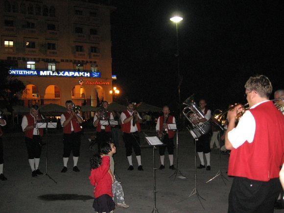 German music in Platea Aristoteles