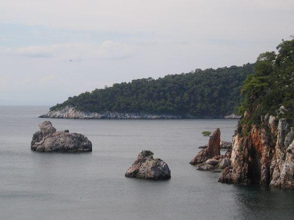Rocks in Staphylos