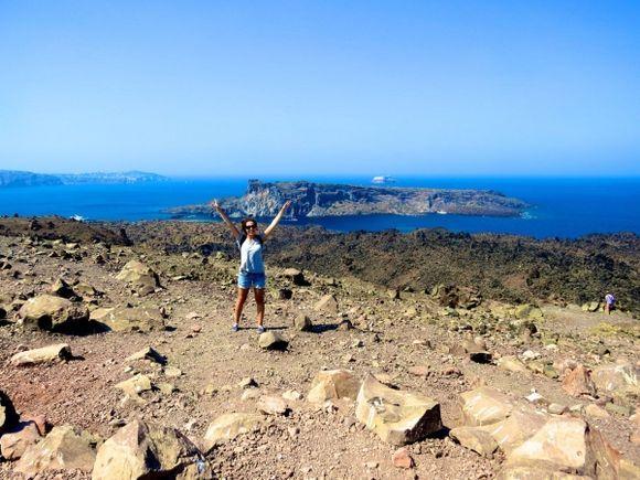 Nea Kameni: Santorini's still active volcano