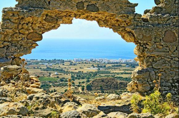 view overlooking Kardamena