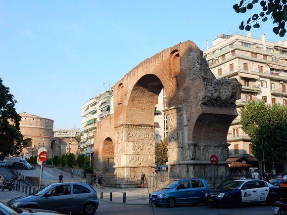 Thessaloniki : Arch of Galerius