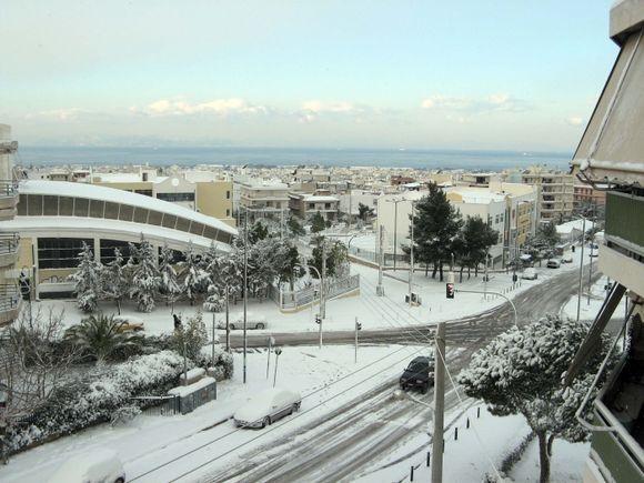 Winter, Ano Glyfada