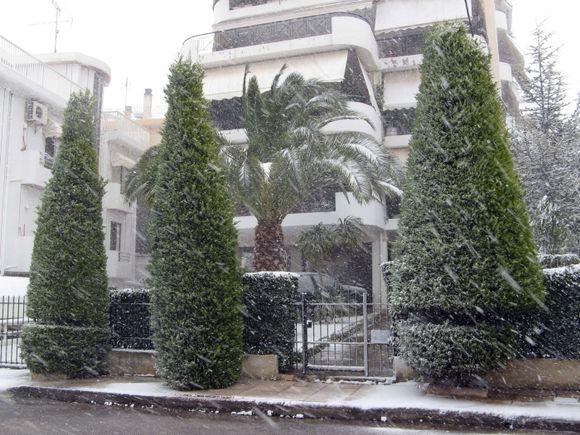 Snow Storm, Ano Glyfada