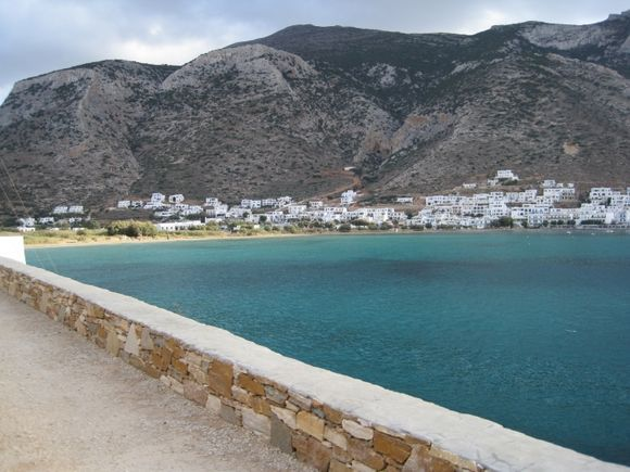 A view of the beach at Kameras