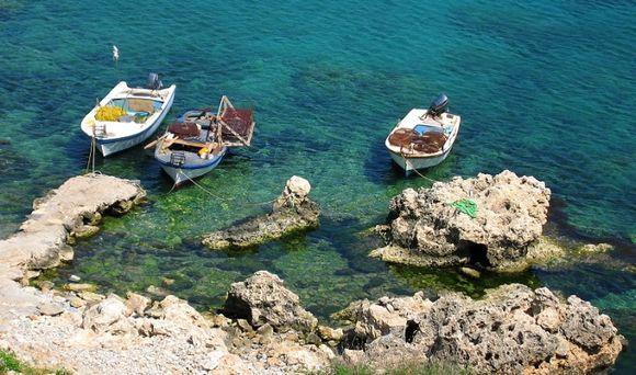 Lindos beachside